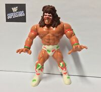 WWF ULTIMATE WARRIOR WRESTLING FIGURE HASBRO 1991 SERIES 2 WWE COMBINED P&P