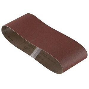 "10 NEW BOSCH SB3R061 Sanding Belt Red 3 x 18"" 60Grit"