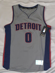 Andre Drummond Detroit Pistons Fanatics Fast Break Replica Jersey NWT Small