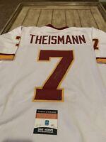 Joe Theismann Autographed/Signed Jersey COA Washington Redskins