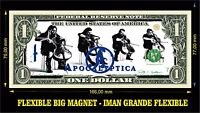 Apocalyptica IMAN BILLETE 1 DOLLAR BILL MAGNET