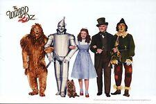 The Wizard of Oz, Dorothy Tin Man Lion etc., Judy Garland Film - Modern Postcard