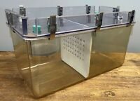 Allentown Caging Lab Rat Rodent Laboratory Mouse Cage w/ Acrylic Water Tank Top