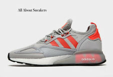 """Adidas ZX 2K Boost """"Gris Rojo"""" Zapatillas Todas Las Tallas Stock limitado"""""""""""