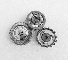 3 x rasoio elettrico testine alluminio lama+tronchesino per Philips NorelcoSH30