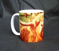Cow Mug Highland Cow Ceramic Gift Mug For People Who Love Cattle Present