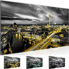 Wandbilder XXL Wohnzimmer Deko -Berlin Skyline Schlafzimmer Flur -Bild Modern