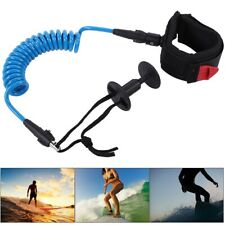 Surfing Bodyboard Coiled Wrist Leash Board Surfing Accessories 5.5MM/5ft T