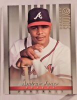 1997 Donruss Studio Portrait 8x10 Andruw Jones Braves Baseball Card