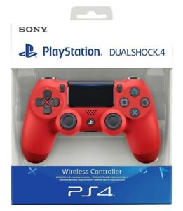 ✅✅✅CONTROLLER PS4 DUALSHOCK 4 ROSSO PLAYSTATION 4 V2 SONY✅✅✅