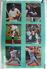 RARE SUPERSTARS OF SPORTS 1977 VINTAGE ORIG SPORTS ILLUSTRATED SI COLLAGE POSTER