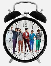 "One Direction Alarm Desk Clock 3.75"" Home or Office Decor E136 ce For Gift"