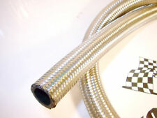 AN -4 (4.8 mm) Stainless Steel Braided Fuel Hose 1M