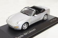 Porsche 968 Cabrio 1994 silber 1:43  Minichamps neu & OVP