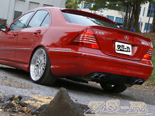 2000-2007 W203 C240 C320 4Dr Painted AMG Trunk Spoiler + LORINSER Type Roof Lip