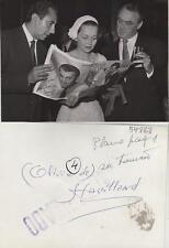 Olivia de Havilland. Fotografía de la artista de cine en España.