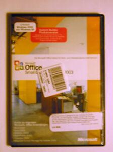 Microsoft Office 2003 Small Business Non-OSB - dt.- NEU