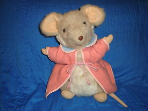 """Exclusive Harrods Merrythought Mouse Pajama Bag 13"""""""
