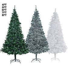 45678ft green white snow artificial christmas tree w - Artificial Christmas Trees Sale