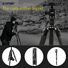 Z668C Professional Portable Carbon Fiber Tripod Monopod&Ball Head for SLR camera