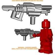 1x Custom Lego Grey Raider Shotgun Minifig gun Accessory Brick Warriors military