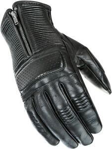 Joe Rocket Cafe Racer Leather Glove Motorcycle Street Bike