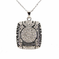 Necklace of Toronto Argonauts 2012 grey cup the 100th CFL Pendant Champions