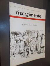 RIVISTA RISORGIMENTO N.2.RESISTENZA.ENRICO MARTINI MAURI.FEBBRAIO 1964.GUTTUSO&C