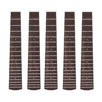 Tenor Ukulele Fretboard Fretted Fingerboard for 26 Inch Hawaii Guitar  5 Pcs