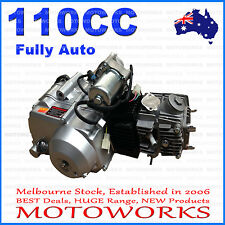Motoworks 110cc Fully Auto Forward ONLY Engine ATV Quad Bike 4 Wheeler
