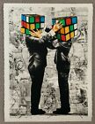 Puzzled Version 2  Signed Number by Hijack --Rubik's Cube Mr brainwash
