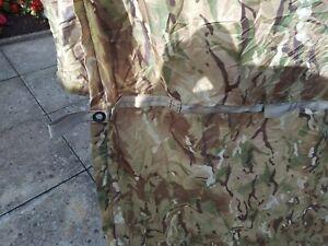 BRITISH ARMY DPM BASHA SHEET SHELTER PONCHO WATERPROOF GENUINE ISSUE
