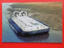 POSTCARD GRIFFON 8000TD HOVERCRAFT - FIRST OF FIVE NEW FOR INDIAN COASTGUARD