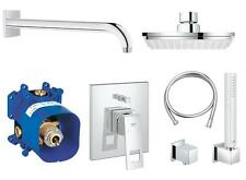 GROHE EUROCUBE SHOWER MIXER KIT 8 IN 1