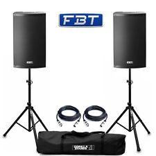 Fbt X-Lite 15A Active 38.1cm 1000W Dj Disco Pa Haut Parleur (Paire) Avec