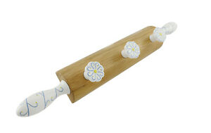 Decorative Wooden Rolling Pin Wall Pegs