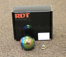 RDT NEO CHROME BALL SHIFT KNOB FOR HONDA CIVIC CRX EF EG EK DEL SOL EM EJ EM2 SI