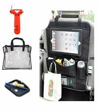 Ipad Seat Storage Organizer Car Emergency Escape Window Break Hammer Bundle
