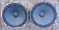 "Electro Voice EV DL-18MT 18"" Speaker Woofer Driver 8 Ohm 400+ Watt PAIR"