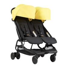 Mountain Buggy Nano DUO Double Stroller In Cyber Brand New!! Free Shipping!!