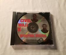 Civil War II 2 Unconditional Surrender (PC, 1996) *Game Disk only