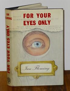 1st Print For Your Eyes Only Ian Fleming Jonathan Cape 1960 UK HB James Bond 007