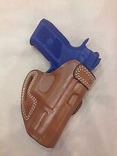 Premium Leather Belt Holster CZ P10 / CZ P07   - (# 7640 Brn)