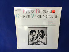 NEW sealed JAZZ record KENNY BURRELL grover washinton BLUE NOTE togethering