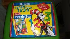 Dr Seuss Learn your 1 2 3's 48 pieces floor puzzle