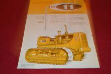 Allis Chalmers HD-11 Crawler Tractor Dealer's Brochure YABE14 ver28