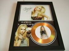 AVRIL LAVIGNE   SIGNED  GOLD CD  DISC 2