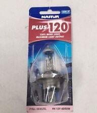 Narva 48362BL H4 +120 Globe 12 Volt 60W55 - PAIR 48362BL2