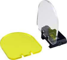 4mm Acrylic Clear Yellow Optic Lens Sight Protector Shield Airsoft Paintball
