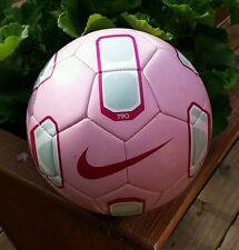 Nike Official T90 Total 90 Pitch 2010 2011 Training Soccer Ball Pink Silver